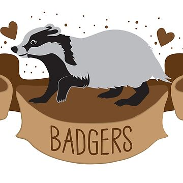 BADGERS banner by jazzydevil