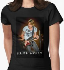 KEITH URBAN IWAK6 Women's Fitted T-Shirt