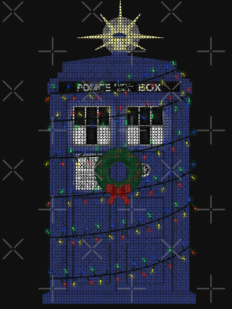 Police Box Christmas Knit by Milmino