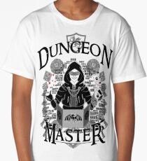 Dungeon Master - Black Long T-Shirt