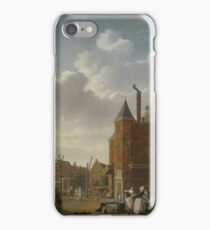 Isaac Ouwater - The Sint-Antoniuswaag In Amsterdam, 1790 iPhone Case/Skin