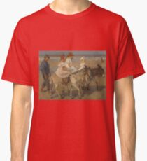 Isaac Israels - Donkey Rides On The Beach Classic T-Shirt