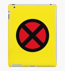X Logo iPad Case/Skin