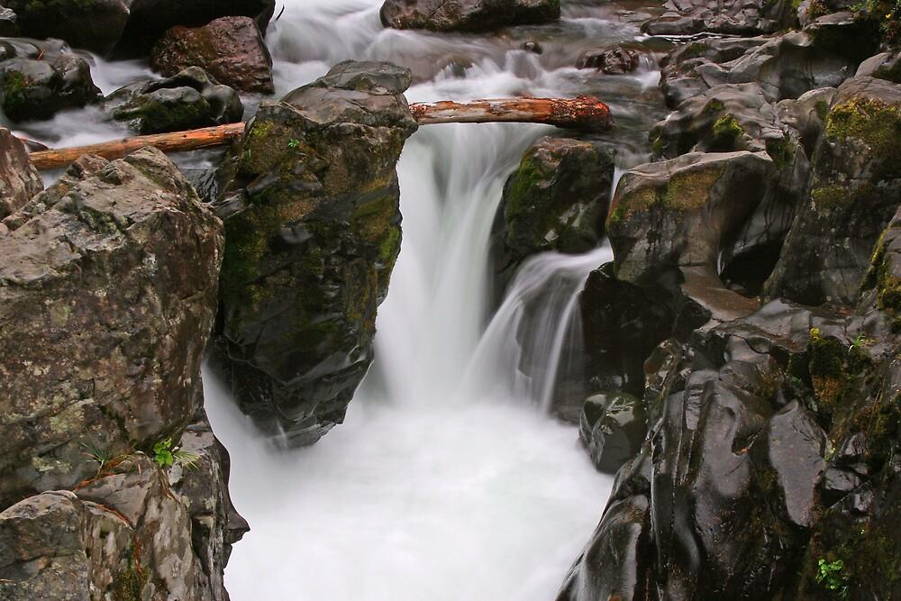 Detail of Moulton Falls by fishinfool