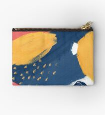 Pink/Yellow/Blue Studio Pouch