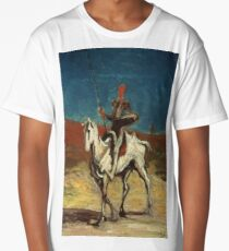 Honore Daumier - Don Quixote Long T-Shirt