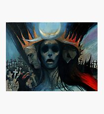 Hecate of the cemetery Photographic Print