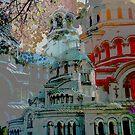 """The Cathedral """"St. Alexander Nevski""""  by Lidiya"""