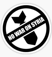 Syria - Anti-war Sticker