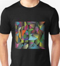techno colour Unisex T-Shirt