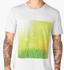 spring grass Men's Premium T-Shirt