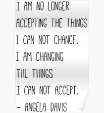 No Longer Accepting Poster