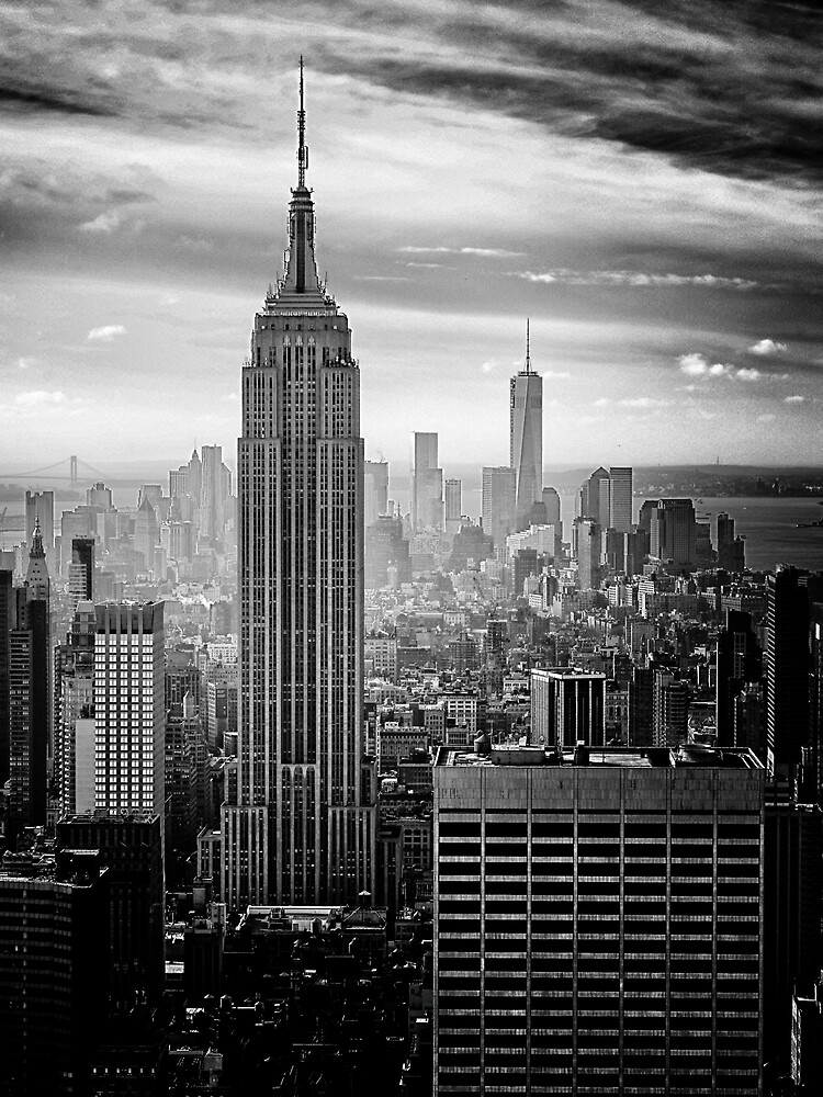 New York City Skyline by cadinera