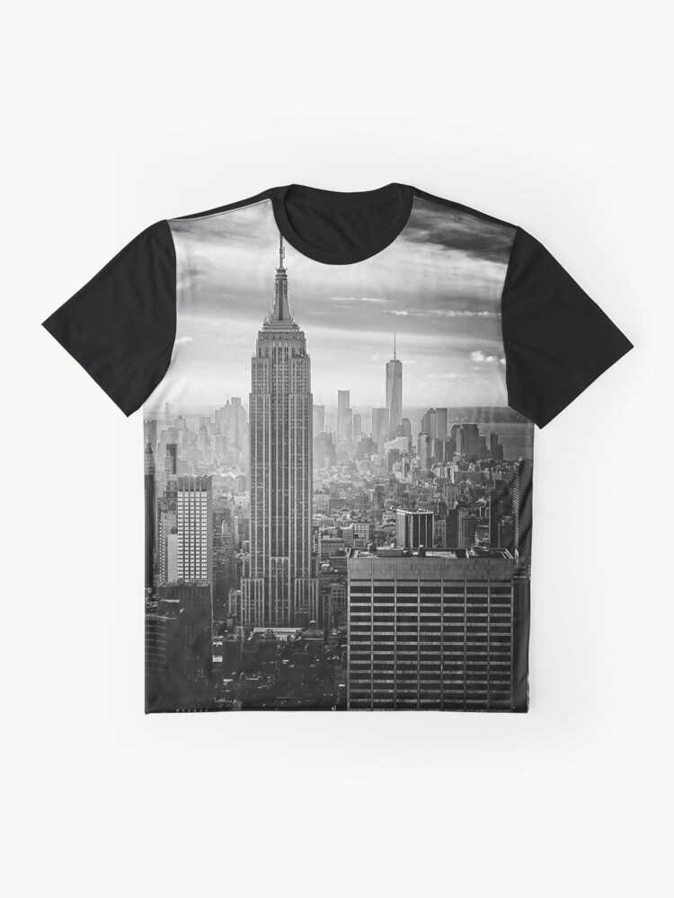 Alternate view of New York City Skyline Graphic T-Shirt
