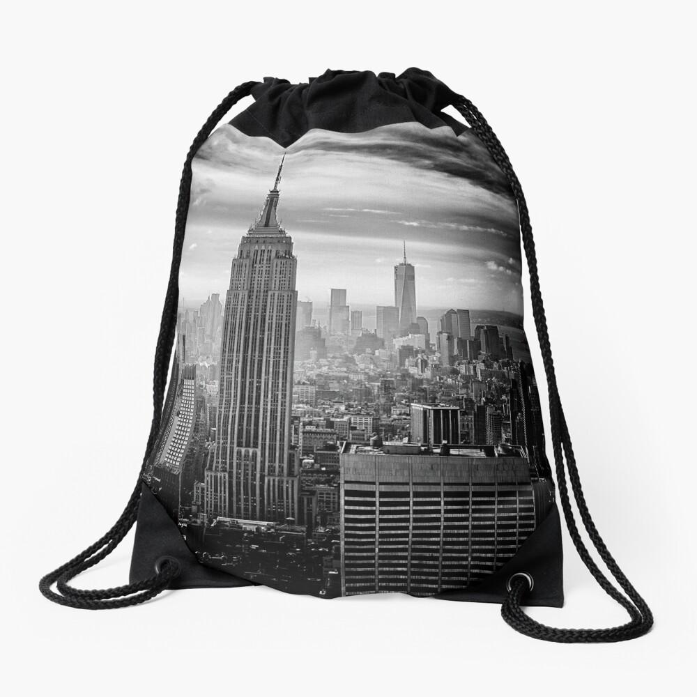 Skyline de la ciudad de Nueva York Mochila de cuerdas