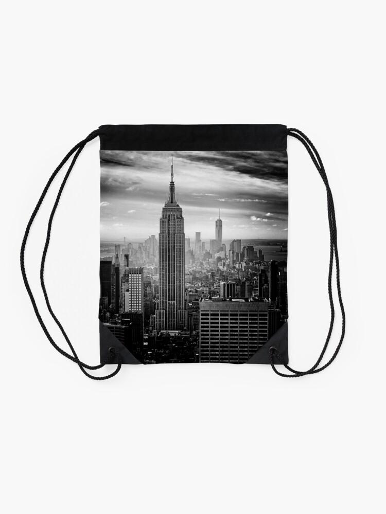 Vista alternativa de Mochila de cuerdas Skyline de la ciudad de Nueva York