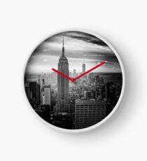 Reloj Skyline de la ciudad de Nueva York