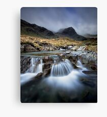 Deepdale Beck and Greenhow End Canvas Print