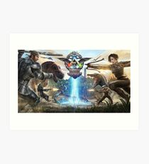 Ark Survival of the Forest Art Print