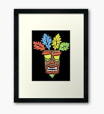 N.Sane Mask Framed Print