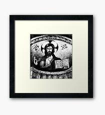 CHRIST PANTOCRATOR  Framed Print