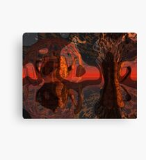Too Late For Tea-Time Canvas Print