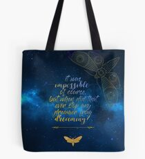 Strange The Dreamer Laini Taylor Tote Bag