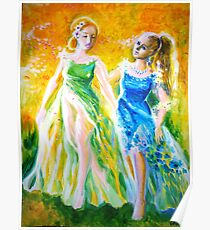 A love story with two princesses Poster