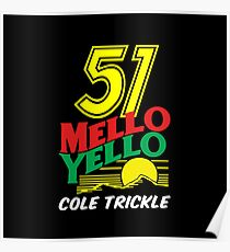 51 MELLO YELLO - DAYS OF THUNDER - TOM CRUISE Poster