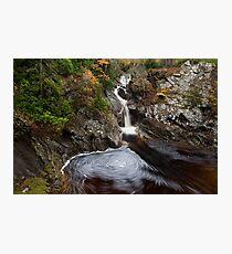 falls of bruar Photographic Print