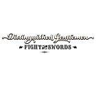 Distinguished Gentlemen Fight with Swords by Tee Brain Creative