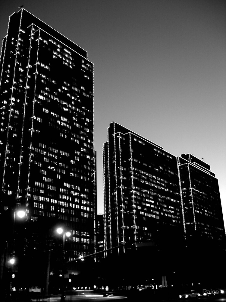 Embarcadero B&W by Paige