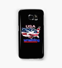 USA Flag Team Wrestling Samsung Galaxy Case/Skin