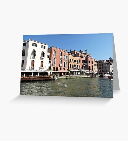 Venice Grand Canal 08041701 Greeting Card