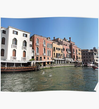 Venice Grand Canal 08041701 Poster