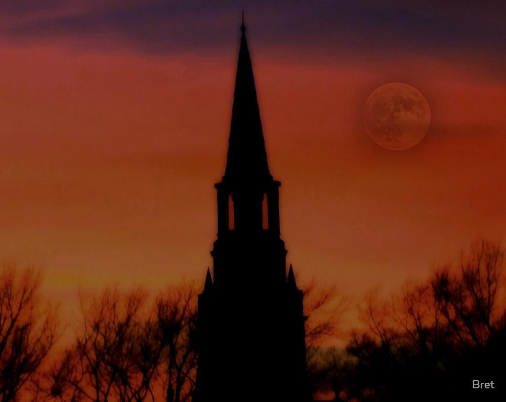 December moon by Bret