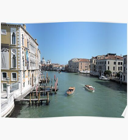 Venice Grand Canal 08041702 Poster