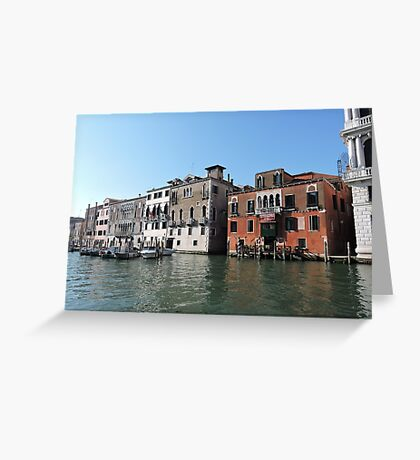 Venice Grand Canal 09041701 Greeting Card