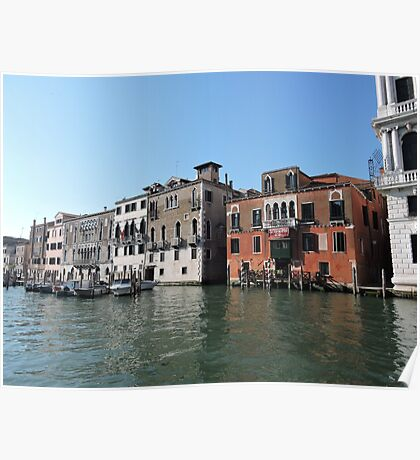 Venice Grand Canal 09041701 Poster