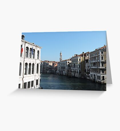 Venice Grand Canal 09041702 Greeting Card