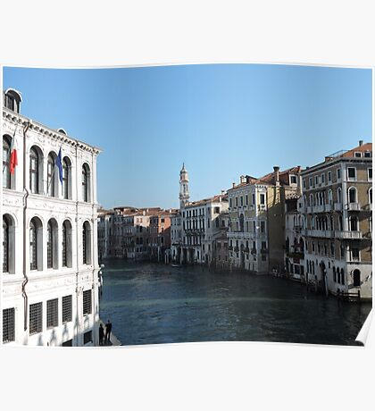 Venice Grand Canal 09041702 Poster