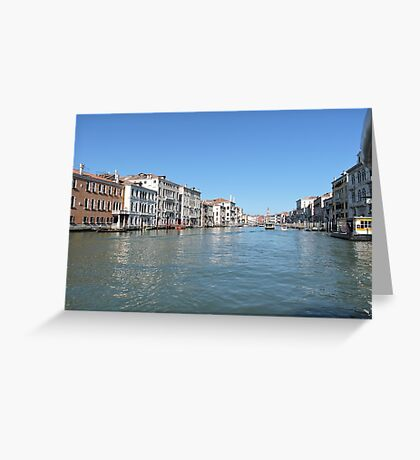Venice Grand Canal 09041703 Greeting Card
