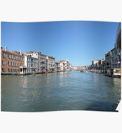 Venice Grand Canal 09041703 Poster