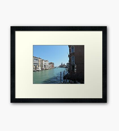 A Corner Of Venice Framed Print