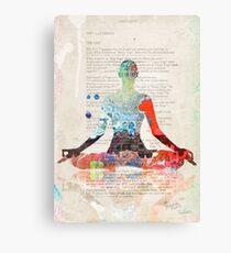 Atlantida Yoga Book Canvas Print