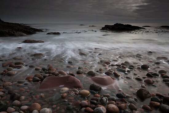 auchmithie beach by codaimages
