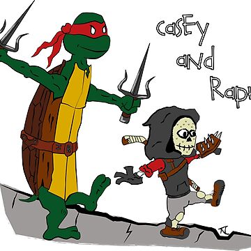 Casey and Raph by Gocpodin