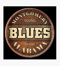 Montgomery Sound Blues Music Alabama Photographic Print