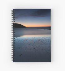 achmelvich beach sunset Spiral Notebook