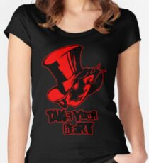 take your heart Women's Fitted Scoop T-Shirt